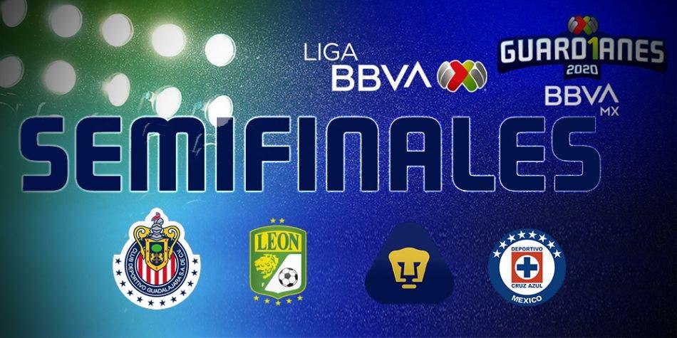 Semifinales de la Liga MX 2020 (horarios y enfrentamientos)