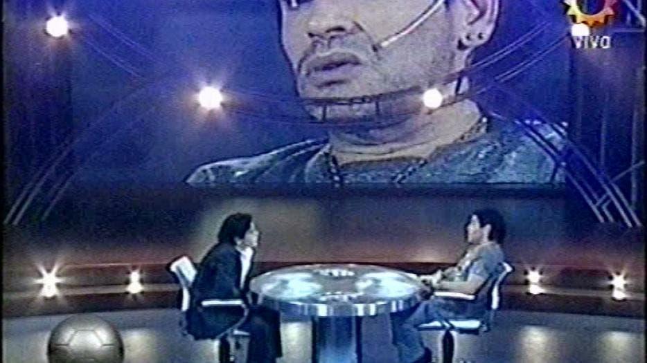 La noche que Armando Maradona entrevistó a Armando Maradona
