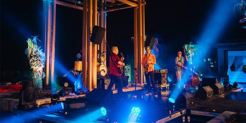 Segunda noche mágica del festival de jazz en la Riviera Maya.