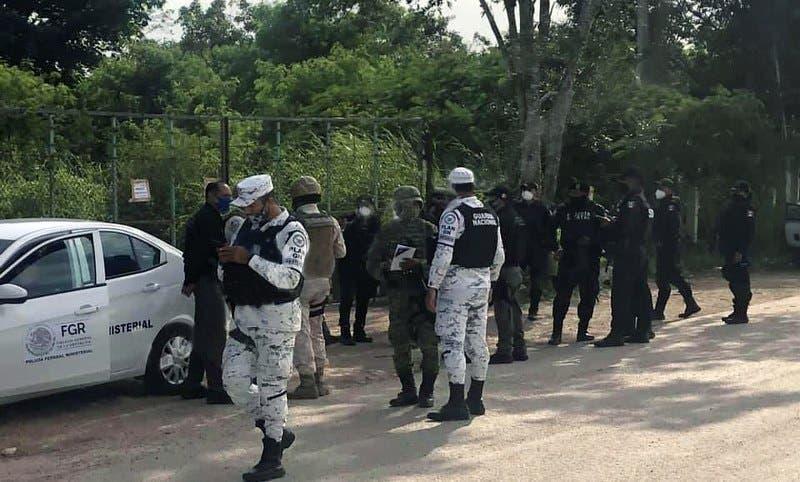 Aseguran 36 mil litros de combustible 'huachicol' en un predio vía Mérida-Campeche