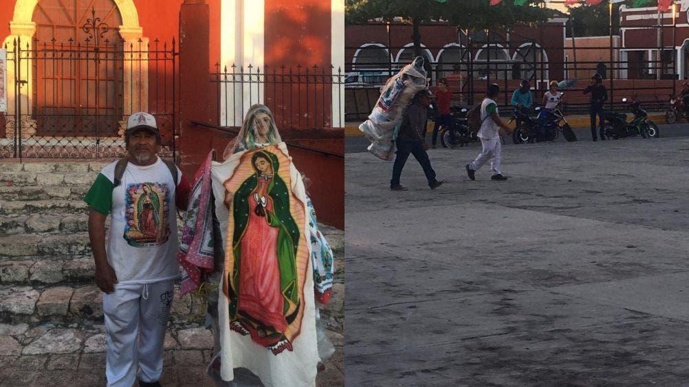 Guadalupano recorrerá Yucatán en honor a la virgen