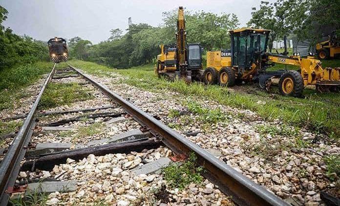 Reclutan mano de obra para la construcción del Tren Maya en Maxcanú