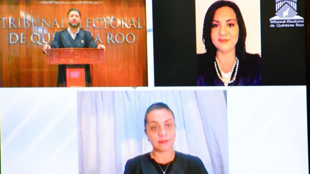 Rinde informe virtual de actividades el presidente del Teqroo