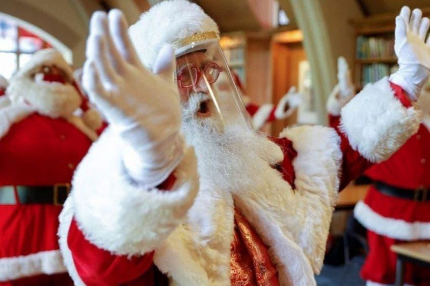 'Santa Claus' contagia de Covid a 118 personas en un asilo.