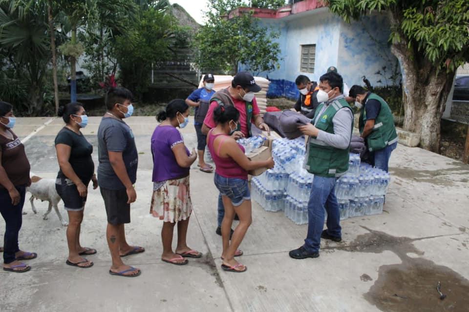 Peligra la producción mielera de Chumpón por las lluvias; al menos 70 familias sufren estragos por las inundaciones del fin de semana.