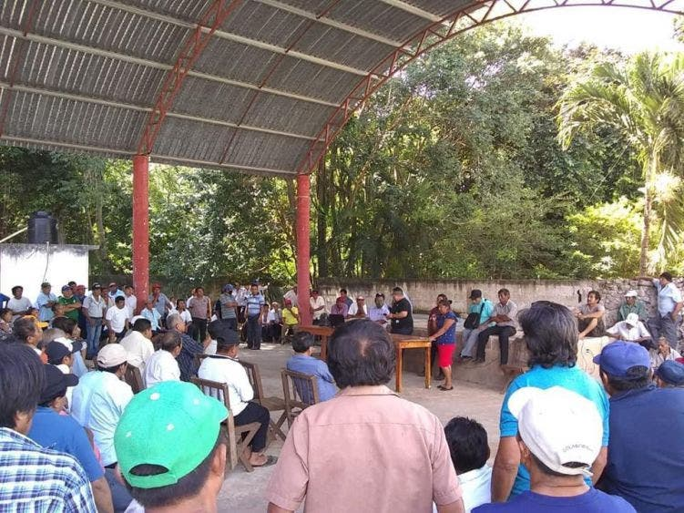 Campesinos de Tihosuco reanudan lucha por el pago de indemnización de tierras ejidales