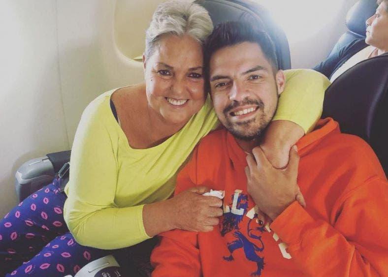 Propinan brutal golpiza a hijo de Lupita D'Alessio