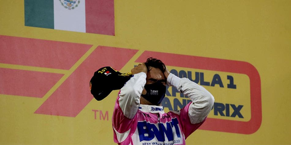 Fórmula 1: 'Checo' Pérez gana el GP de Sakhir