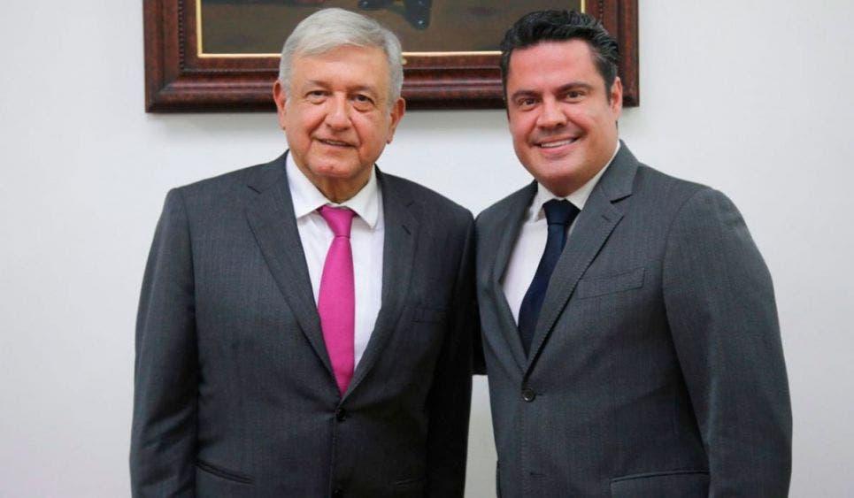 AMLO lamenta la muerte de Aristóteles Sandoval exgobernador de Jalisco