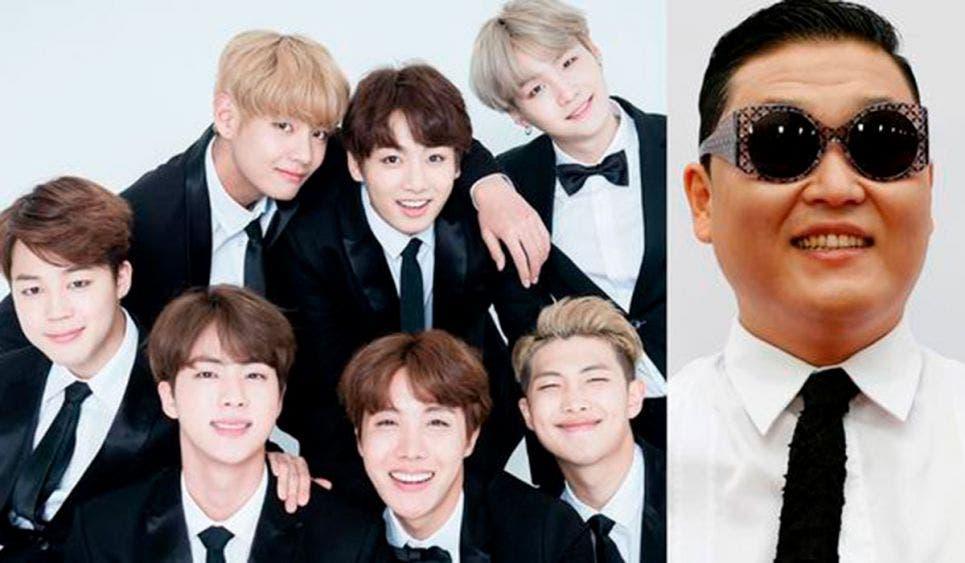 BTS destrona a 'Gangnam Style' con 'Dynamite'