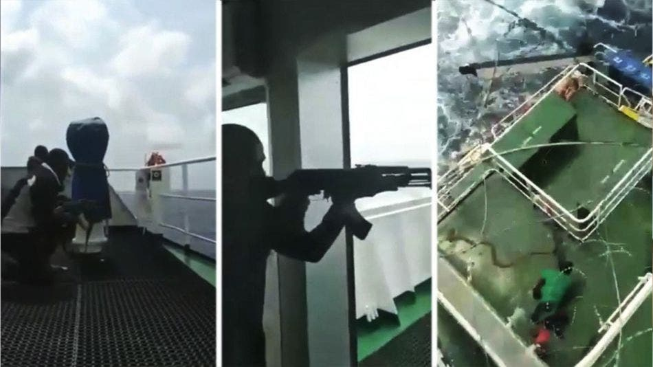 ¡De película! Barco es asaltado por piratas; repelan agresión