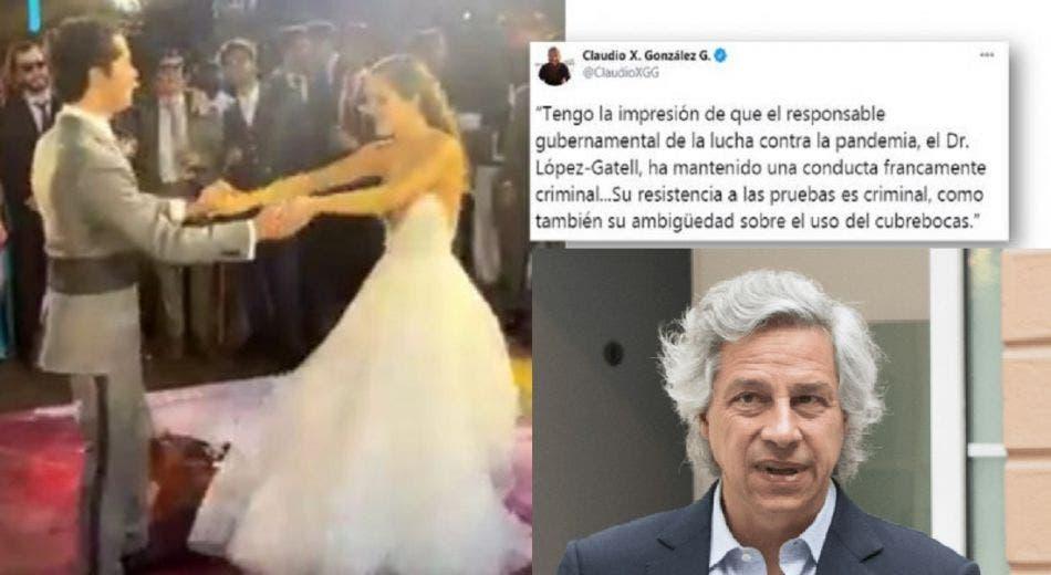 Claudio X. González, la hipocresía y su fiesta sin sana distancia
