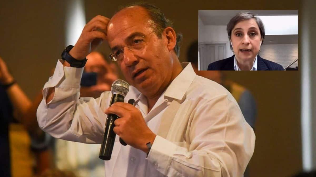 """Calderón se la cura: """"MVS me ofreció echar a Aristegui, no acepté"""""""