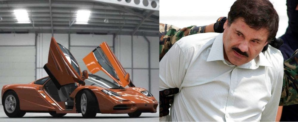 El misterio del McLaren F1 de 'El Chapo', está desaparecido