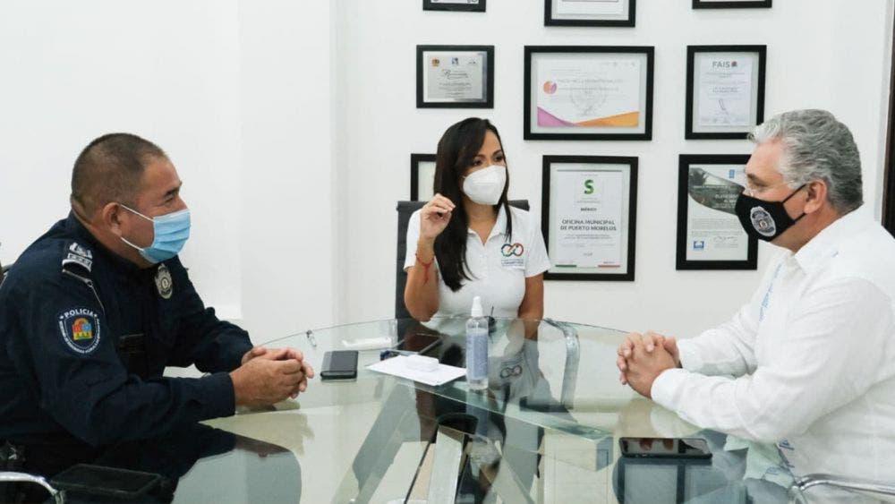 Laura Fernández estrecha lazos de coordinación con la Secretaria de Seguridad Pública del Estado