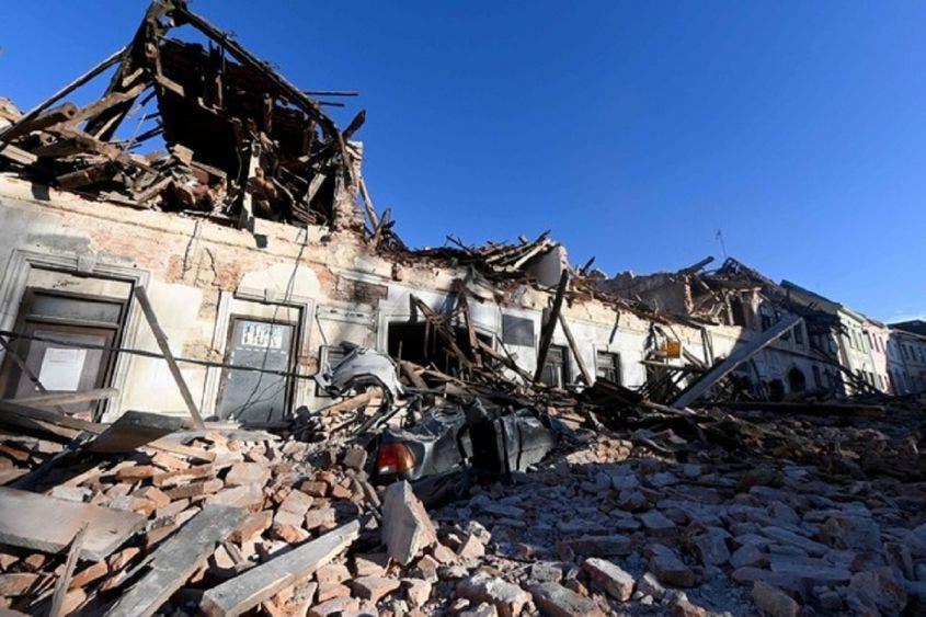 Sacude a Croacia sismo de 6.4; muere una niña