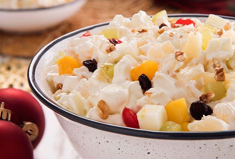 Recetas | Consiente a tu familia con una rica ensalada navideña