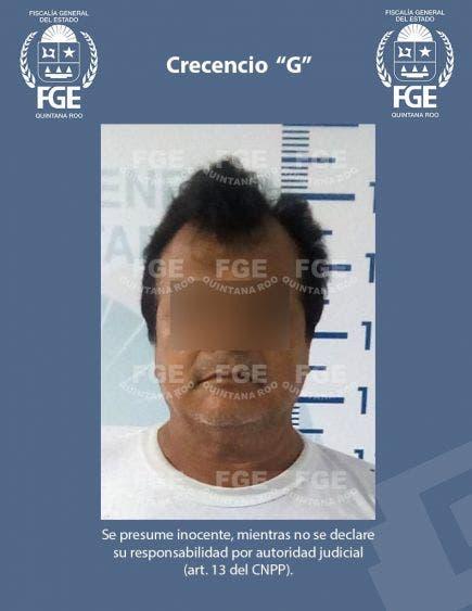 """En Chetumal capturan a presunto narcomenudista; trabajos de investigación permitieron detener en un cateo a Crescencio """"G""""."""