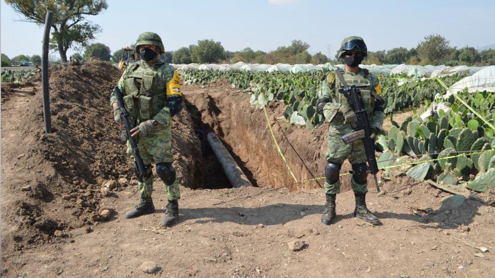Asegura Ejército Mexicano toma clandestina de combustible