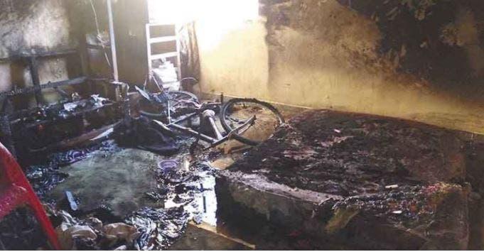 Terrible Incendio deja sin hogar a una familia en Temax