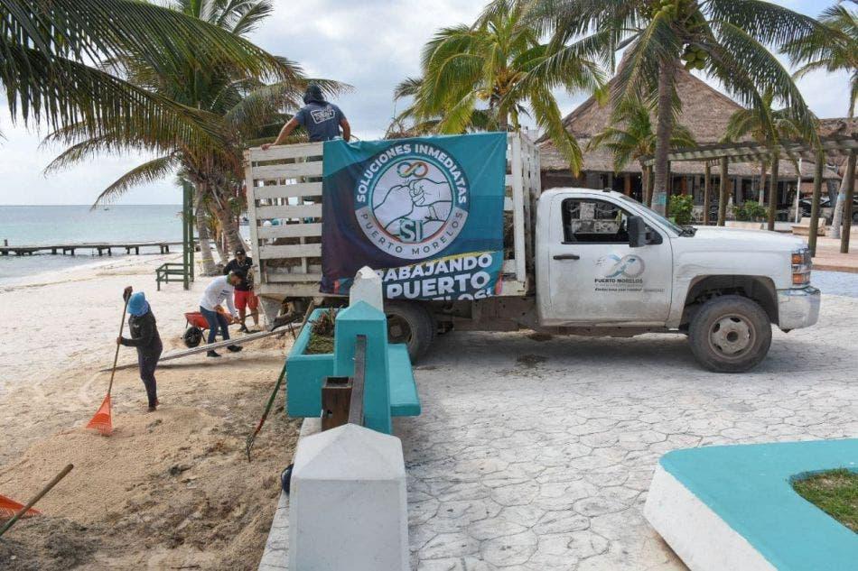 """""""Aunado a las macro brigadas, se activó el programa """"SI Puerto Morelos"""" que atiende de inmediato reportes ciudadanos para el restablecimiento total de los servicios"""", afirma"""
