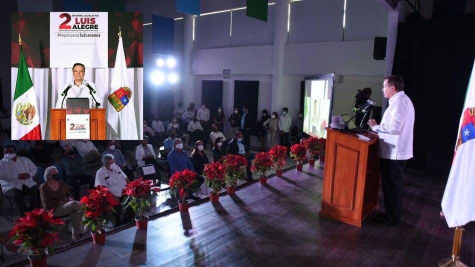 Luis Alegre, impulsando la economía y la reactivación turística en Quintana Roo