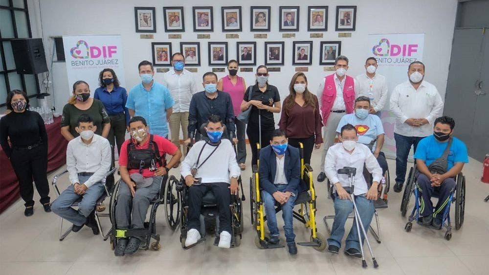 Gobierno de BJ comprometido con la inclusión de las personas con discapacidad