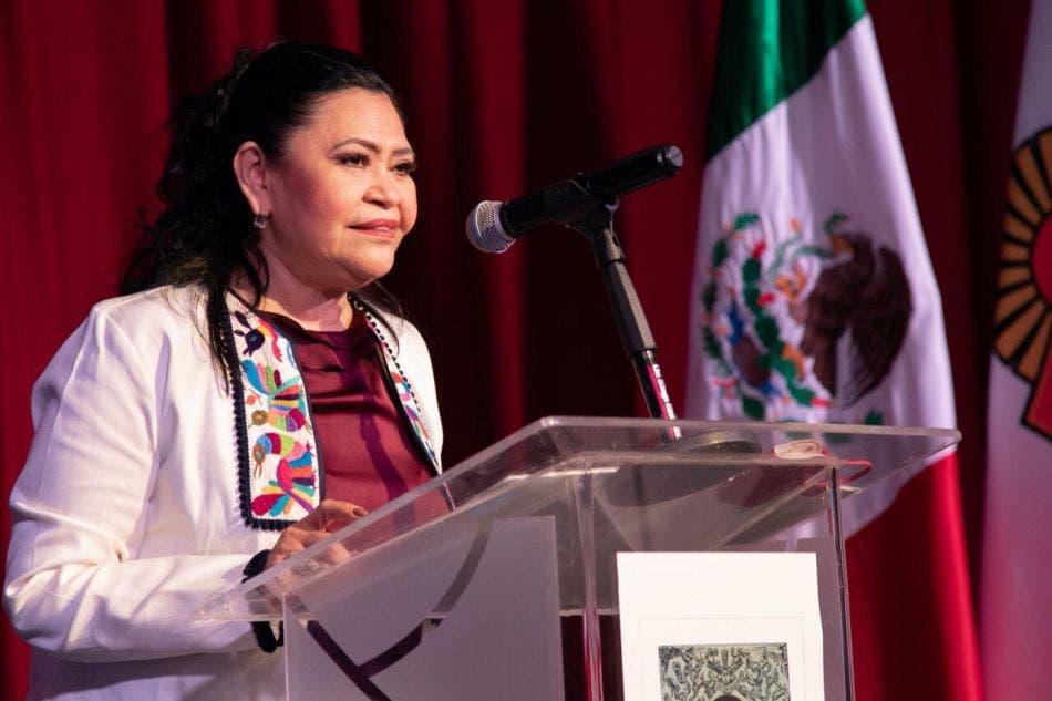 Rinde Mildred Ávila su segundo Informe