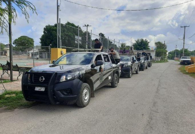 Policía de Izamal, realiza operativo contra la venta clandestina de alcohol