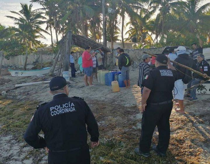 Hallan sin vida al joven pescador desaparecido en Dzidzantún