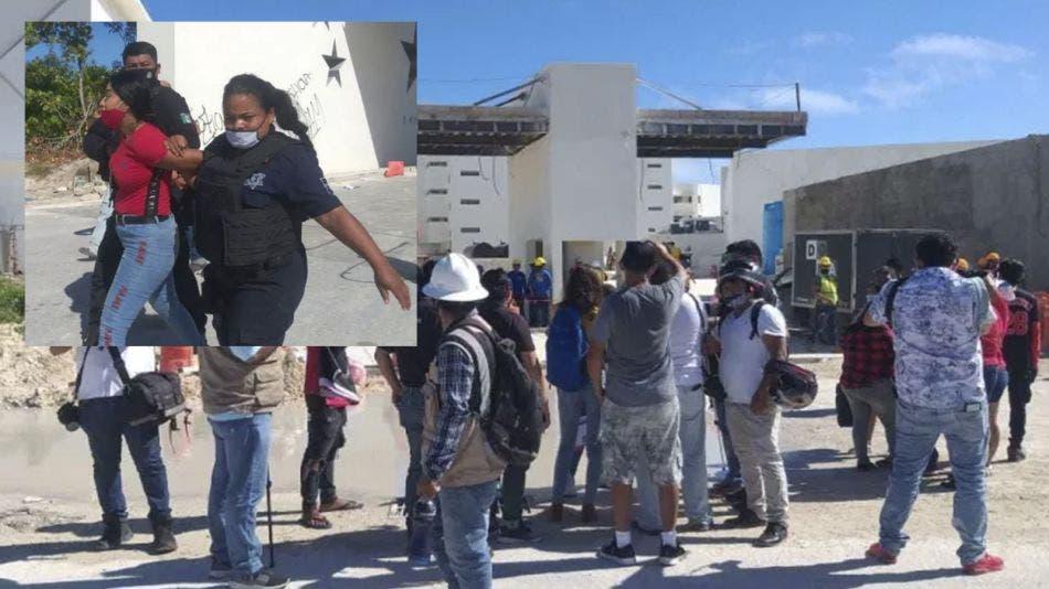 Protestan familiares de albañiles sepultados en narcofosa