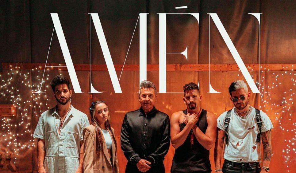 Ricardo Montaner lanza su nueva canción 'Amén' junto a sus hijos y Camilo