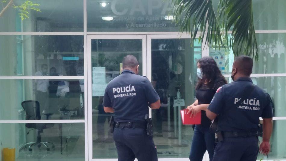 Asaltan oficinas de CAPA Cozumel y roban cuantioso botín