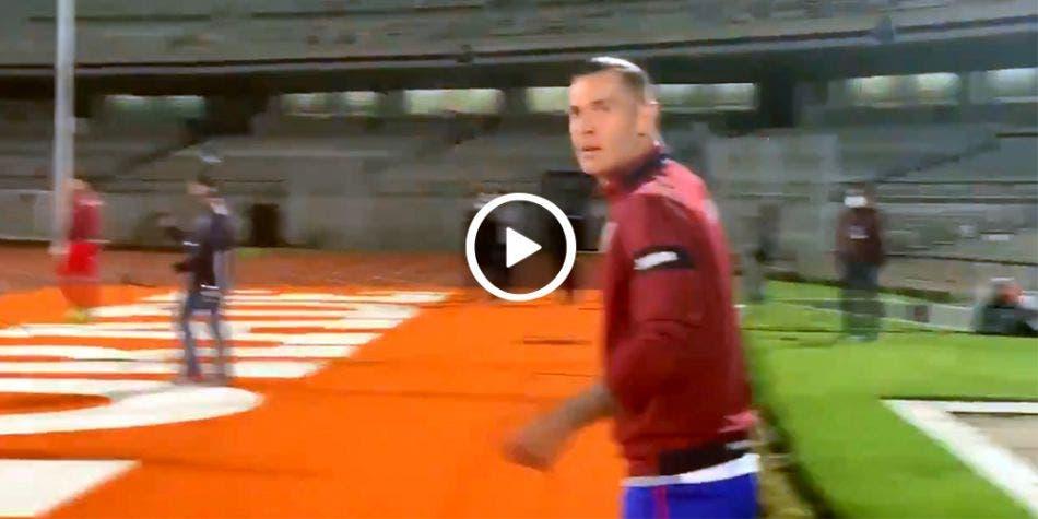 Jugador de Cruz Azul insulta al entrenador (video)