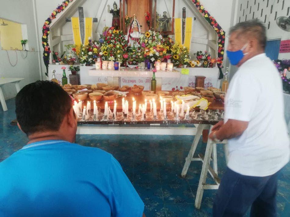 En Kantunilkín piden no relajar protocolos sanitarios en festividad religiosa.