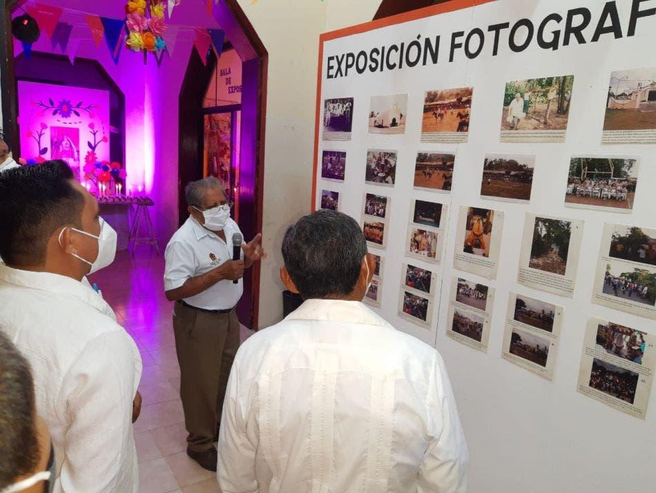 Inauguran exposición en honor a la Virgen de la Inmaculada Concepción.