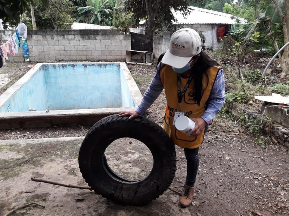 Combaten con ovitrampas el dengue en la Zona Maya.