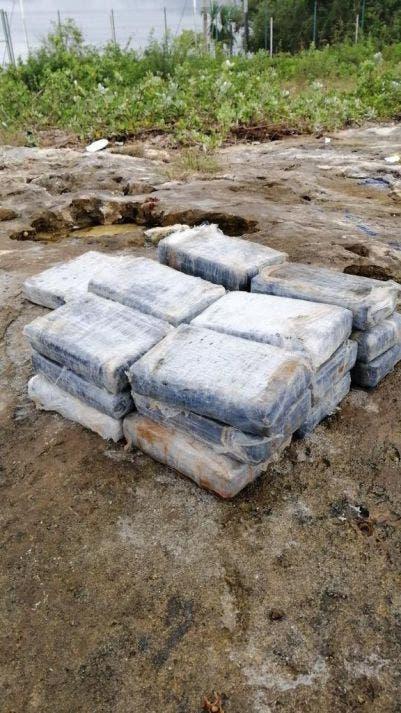 Video: Aseguran marinos recale de cocaína en Cozumel; cerca de la Marina Fonatur hallan envoltorio con 19 paquetes de la doga.