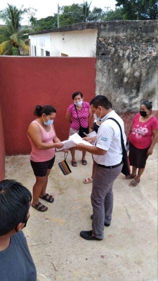 Brinda CAPA atención itinerante a familias de la alcaldía Ignacio Zaragoza; cumple el organismo con todos los protocolos dictados por Salud.