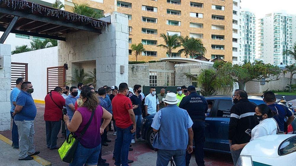 Trabajadores del Ocean Dream Cancún reclaman pago de prestaciones.