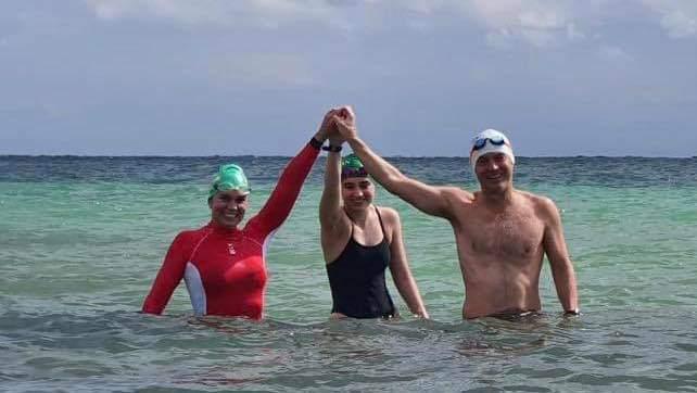 Nadan por la educación desde Cozumel a la Riviera Maya.