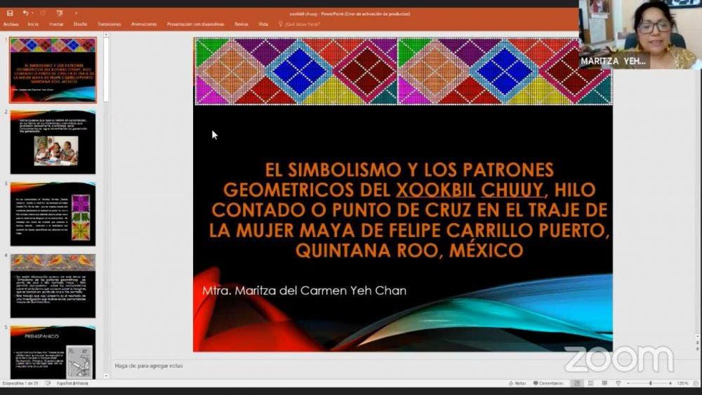 Realizan en FCP semana virtual de la cultura maya; gente de colectivos indígenas llevan a cabo diversas actividades.