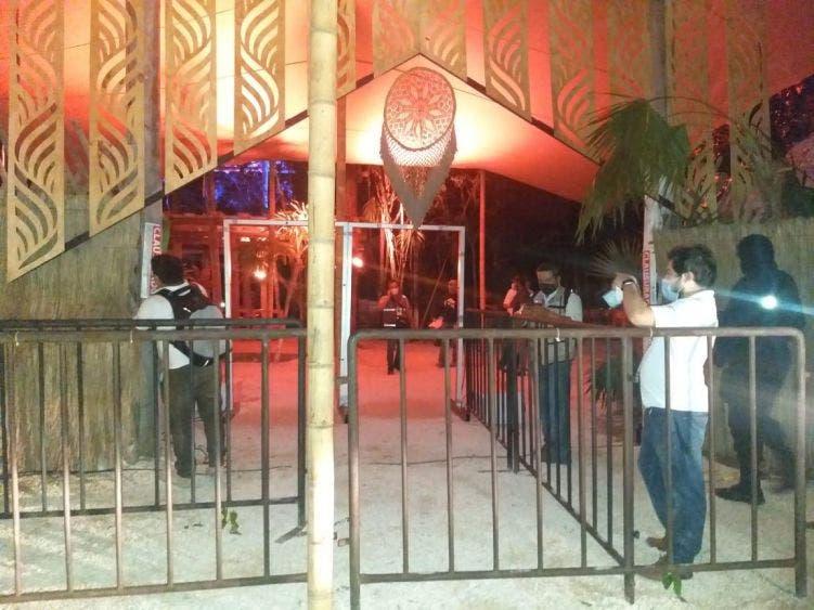Frustran una 'rave party' con 200 asistentes en Tulum.
