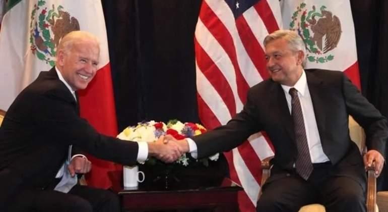 Reafirman AMLO y Joe Biden trabajar por el bien común.