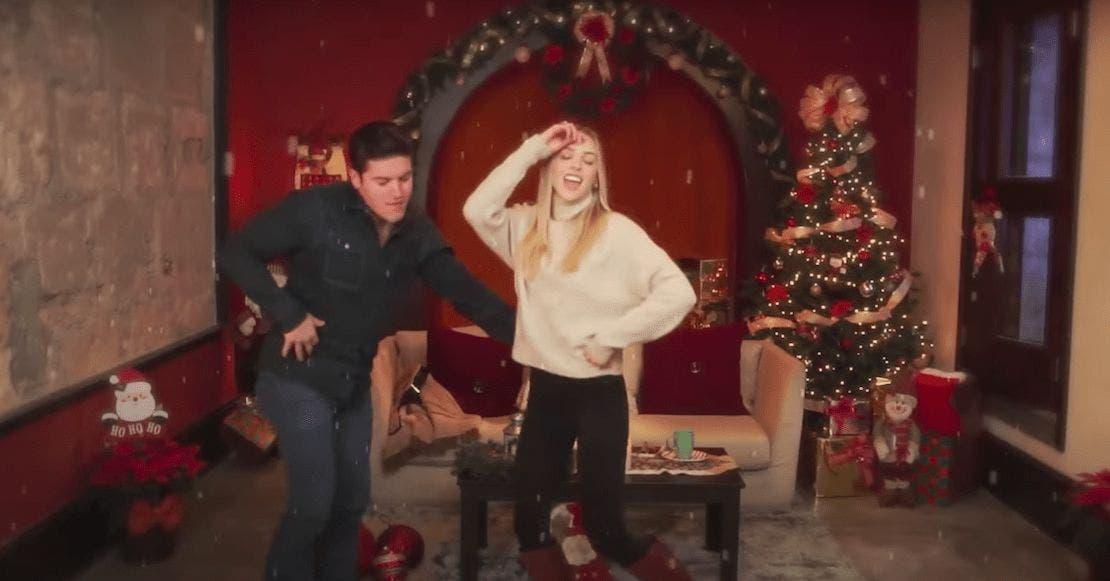 Aunque nadie se lo pidió Samuel García nos regala bailecito navideño