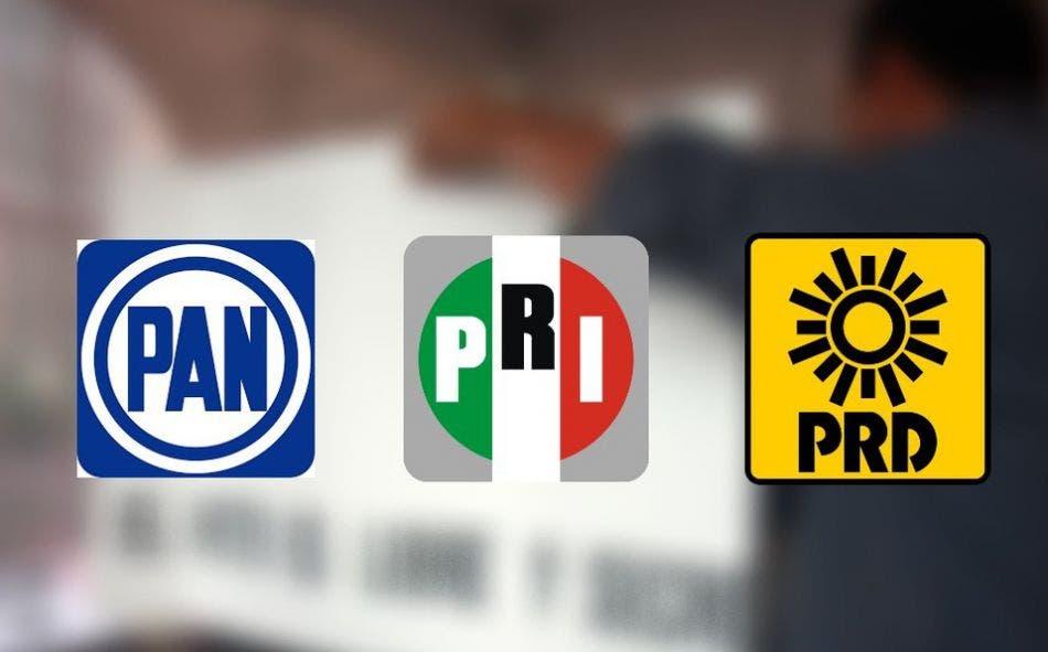 Mesa Chica: PAN, PRI y PRD harán alianza federal en QR; lejos, coalición por Ayuntamientos.