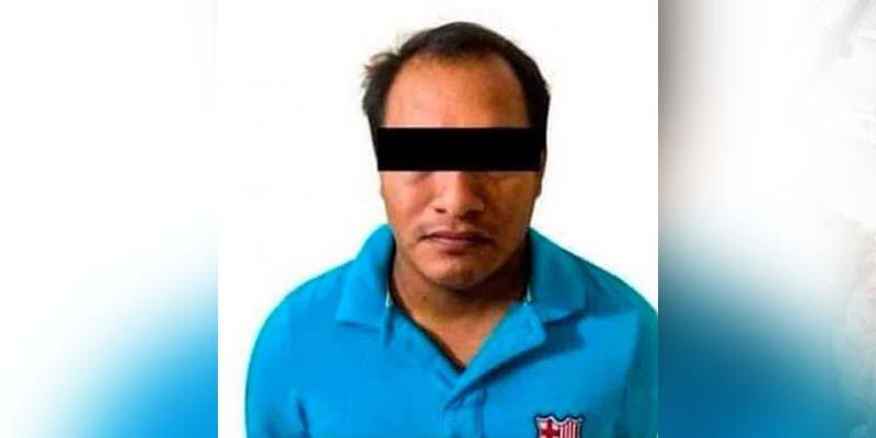 Explotador sexual es detenido en un hotel