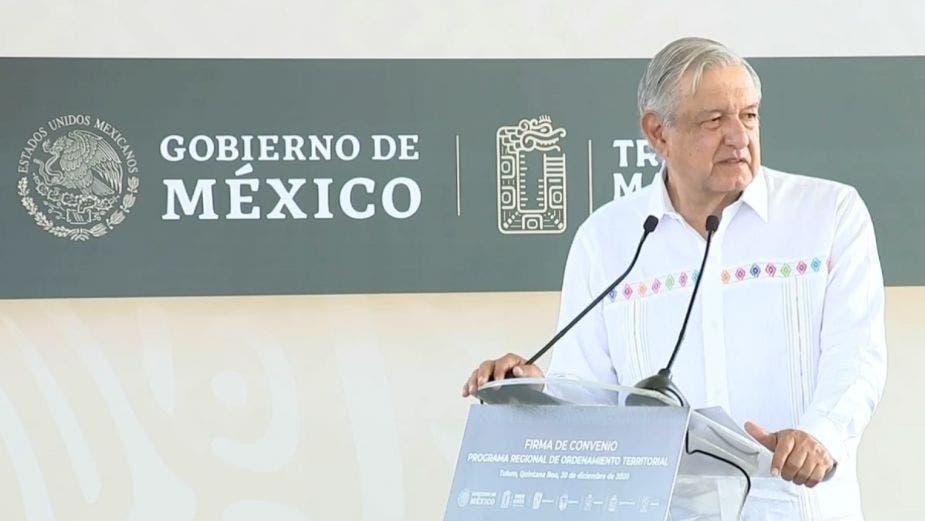 Plantea AMLO que el Ejército opere parte del Tren Maya y cuatro aeropuertos.