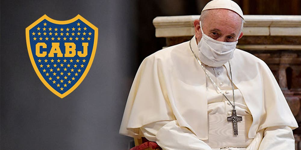Papa Francisco se convierte en socio de Boca Juniors