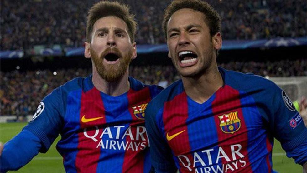 Neymar adelanta que podría jugar con Messi el próximo año
